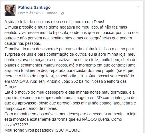 Patricia Santiago de Canoas