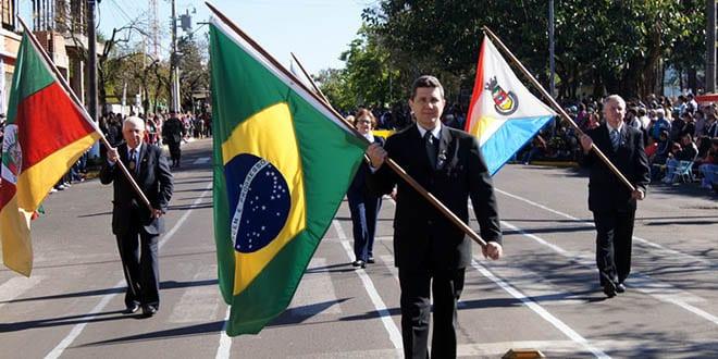 Desfile 7 de setembro santiago rs entidades