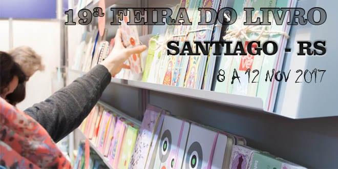 Feira do livro santiago rs