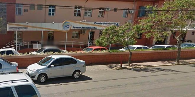 Foragido é preso no HCS de Santiago