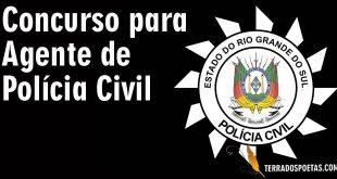 Concurso para agente de Polícia Civil do RS