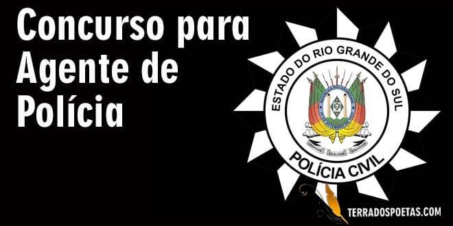 Polícia Civil do RS publica edital para concurso de agente