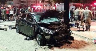 Motorista atropela diversas pessoas em Copacabana