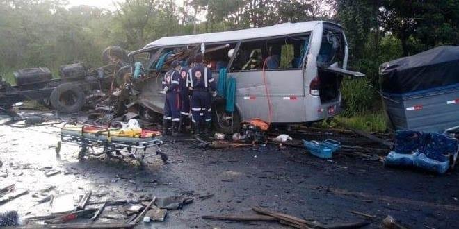 acidente na na BR 251 em Minas