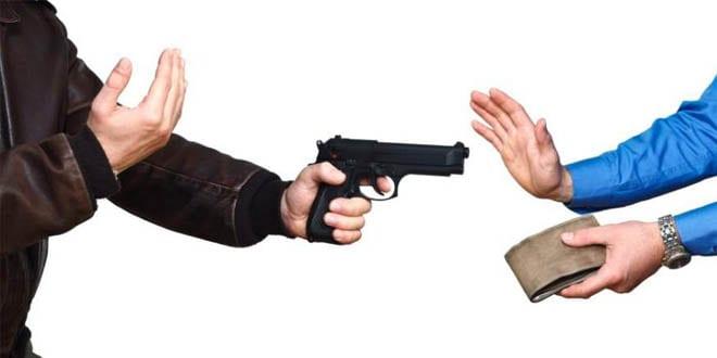 Assalto a mão armada em Santiago